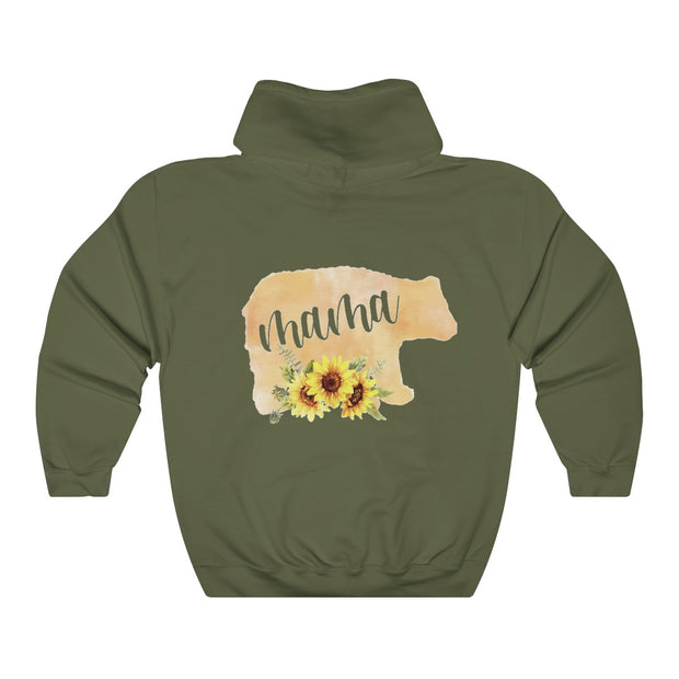 Momma Bear Unisex Heavy Blend™ Hooded Sweatshirt | The Chocolate Chicken | Modern Farmhouse Home Decor