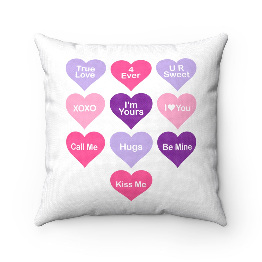 Candy Heart Pillow