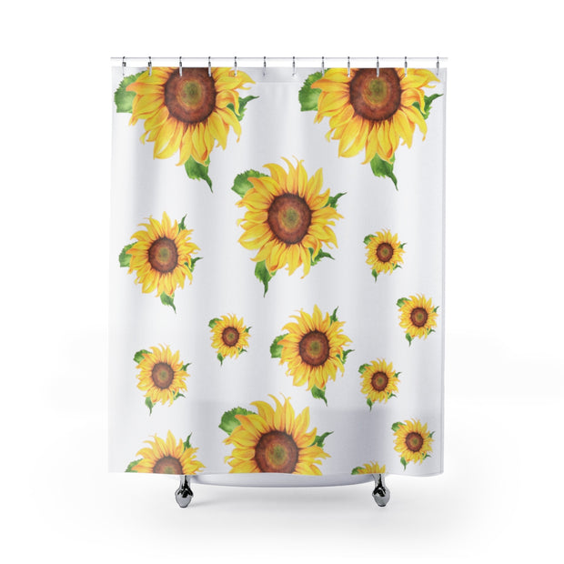 Sunflower Designer Curtain | The Chocolate Chicken | Modern Farmhouse Home Decor