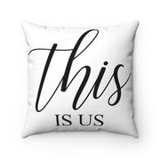 This is Us Farmhouse Pillow | The Chocolate Chicken | Modern Farmhouse Home Decor