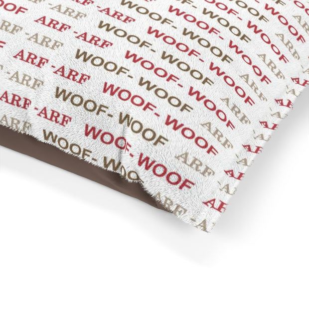 Woof Woof Dog Bed | The Chocolate Chicken | Modern Farmhouse Home Decor
