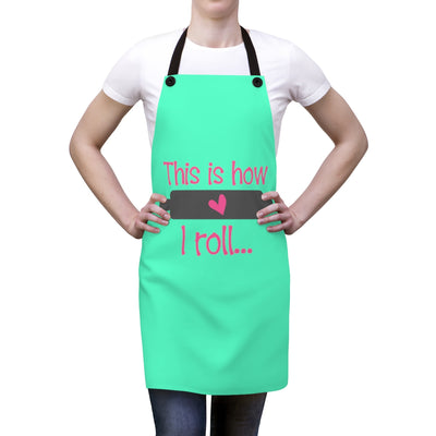How I Roll Apron | The Chocolate Chicken | Modern Farmhouse Home Decor