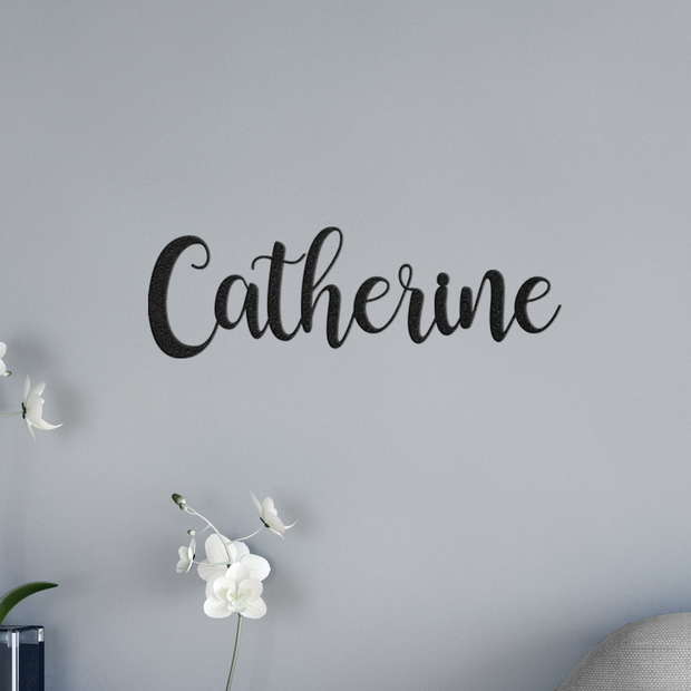 Custom Name Sign - Metal Wall Art/Decor | The Chocolate Chicken | Modern Farmhouse Home Decor