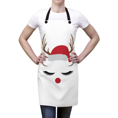 Santa's Reindeer Apron | The Chocolate Chicken | Modern Farmhouse Home Decor