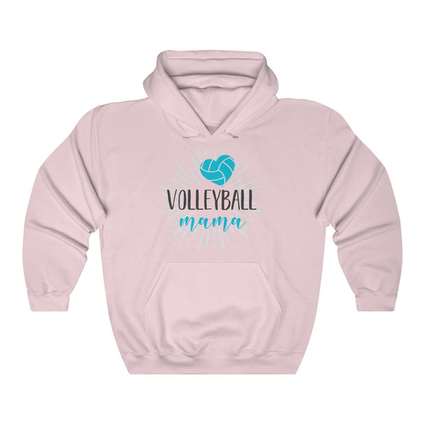 Volleyball Mama Unisex Heavy Blend™ Hooded Sweatshirt | The Chocolate Chicken | Modern Farmhouse Home Decor