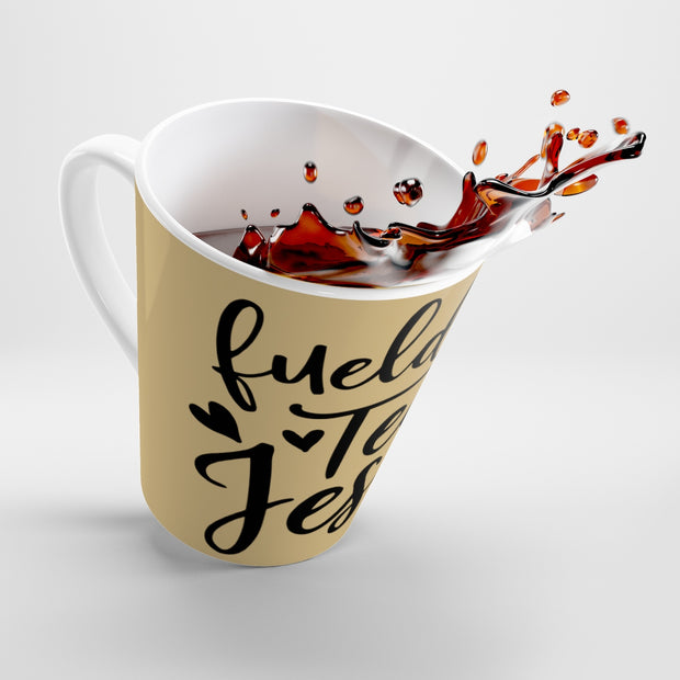 Fueld by Tea mug | The Chocolate Chicken | Modern Farmhouse Home Decor