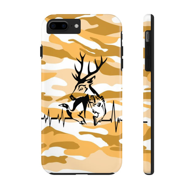 Hunting Heartbeat Case Mate Tough Phone Cases | The Chocolate Chicken | Modern Farmhouse Home Decor