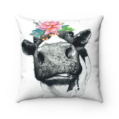 Marvelous Moo Cow Farmhouse Pillows | The Chocolate Chicken | Modern Farmhouse Home Decor