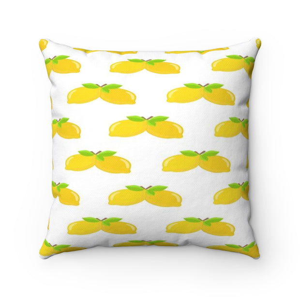 Lemon Pillow | The Chocolate Chicken | Modern Farmhouse Home Decor