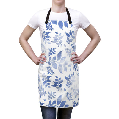 Blue Floral Apron | The Chocolate Chicken | Modern Farmhouse Home Decor