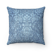 Paisley Denim Pillow | The Chocolate Chicken | Modern Farmhouse Home Decor