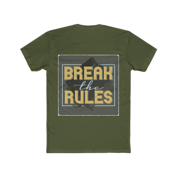 Break the Rules Cotton Crew Tee | The Chocolate Chicken | Modern Farmhouse Home Decor
