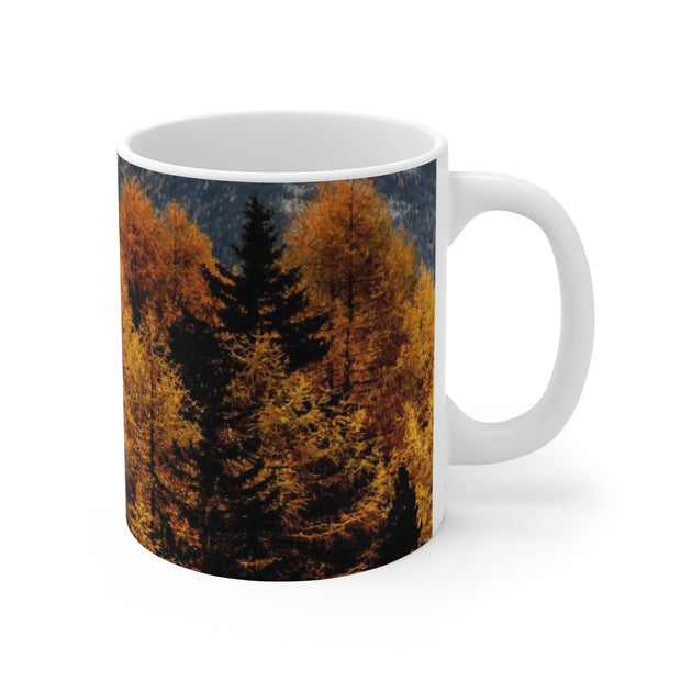 Colors of Fall Ceramic Mug | The Chocolate Chicken | Modern Farmhouse Home Decor