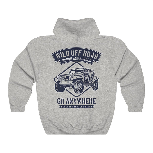 Wild Off Road Unisex Heavy Blend™ Hooded Sweatshirt | The Chocolate Chicken | Modern Farmhouse Home Decor