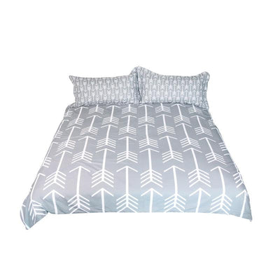 Classical Bedding Set Simple Style Arrow Printed | The Chocolate Chicken | Modern Farmhouse Home Decor