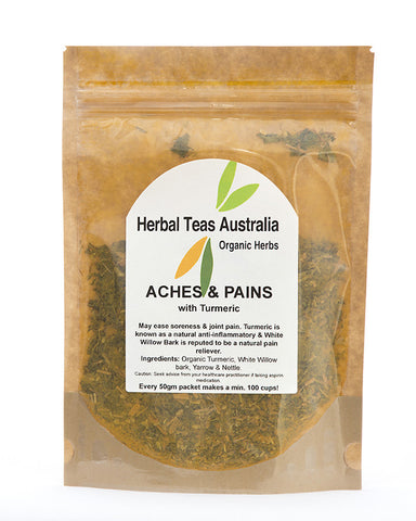 Herbal Teas Australia - Aches & Pains 50gm