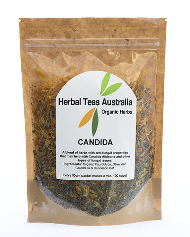 Herbal Teas Australia - Candida 50gm