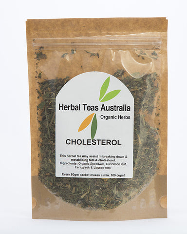 Herbal Teas Australia - Cholesterol 50gm