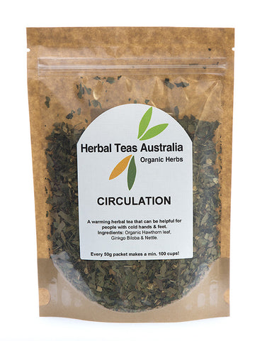 Herbal Teas Australia - Circulation 50gm
