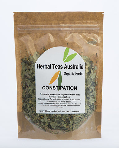 Herbal Teas Australia - Constipation  50gm