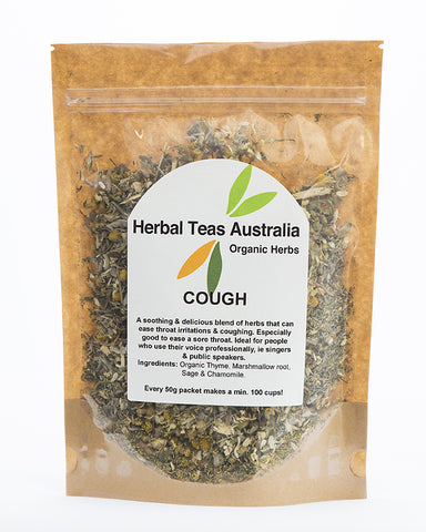 Herbal Teas Australia - Cough 50gm