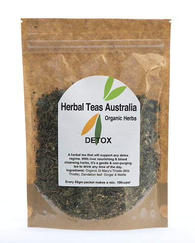Herbal Teas Australia Detox 50gm