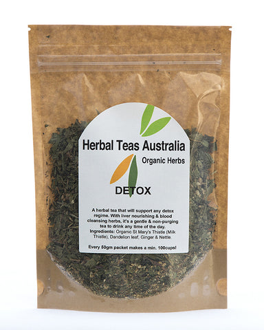 Herbal Teas Australia  - Detox 50gm