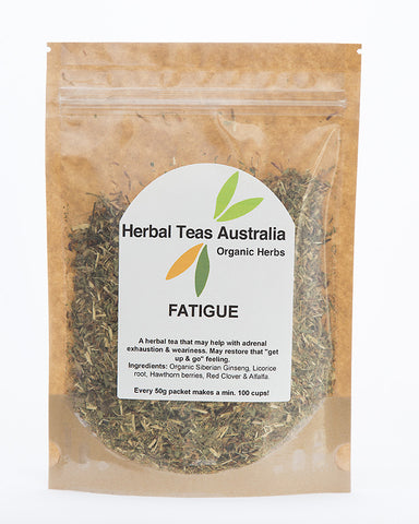Herbal Teas Australia - Fatigue 50gm
