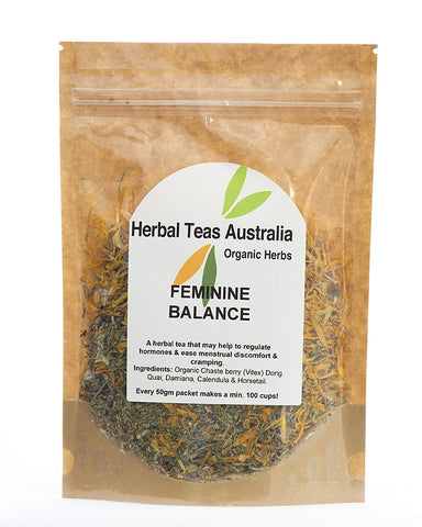 Herbal Teas Australia - Feminine Balance 50gm
