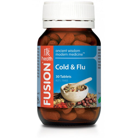 Fusion Cold & Flu 30 tablets