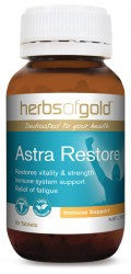 Herbs of Gold Astra Restore 60 tablets - Mountain Health Online