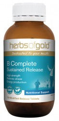 Herbs of Gold B Complete sustained release 120 tablets - Mountain Health Online