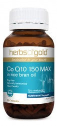 Herbs of Gold CoQ10 150 Max 60 capsules - Mountain Health Online
