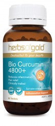 Herbs of Gold Bio Curcumin 4800+ 30 tablets - Mountain Health Online