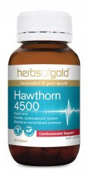Herbs of Gold Hawthorn 4500 60 tablets - Mountain Health Online