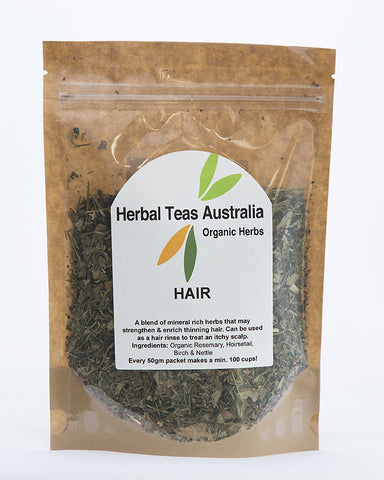 Herbal Teas Australia - Hair 50gm