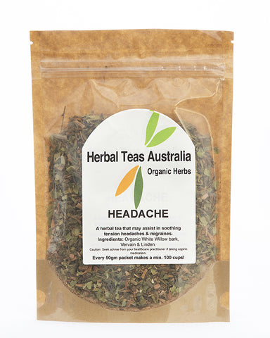 Herbal Teas Australia - Headache 50gm
