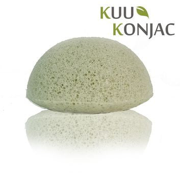 Kuu Konjac Green Clay Sponge - Mountain Health Online