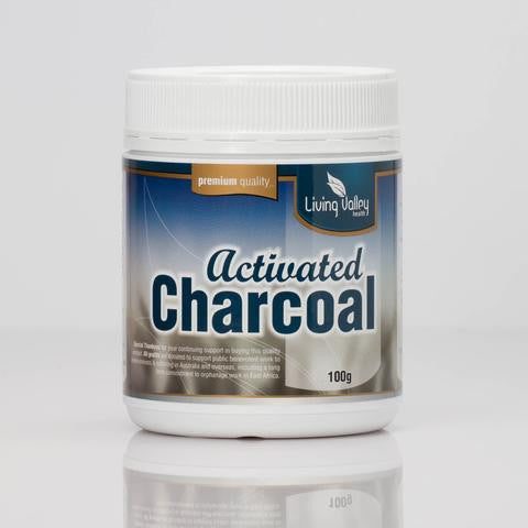 Living Valley Charcoal Powder 100gm - Mountain Health Online