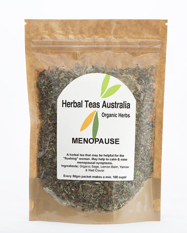 Herbal Teas Australia - Menopause 50gm