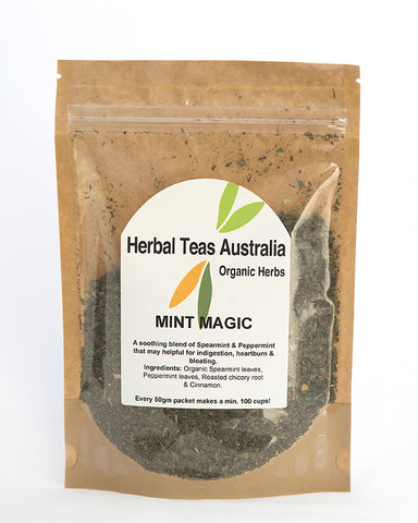 Herbal Teas Australia - Mint Magic 50gm