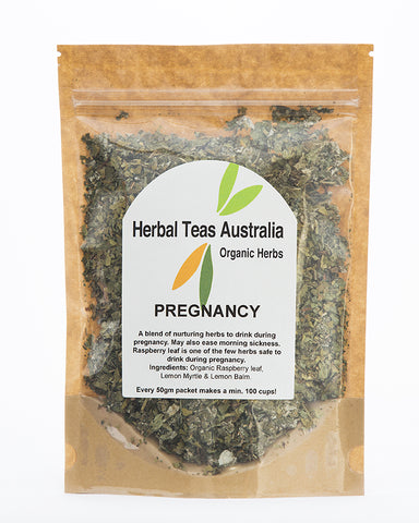 Herbal Teas Australia  - Pregnancy 50gm