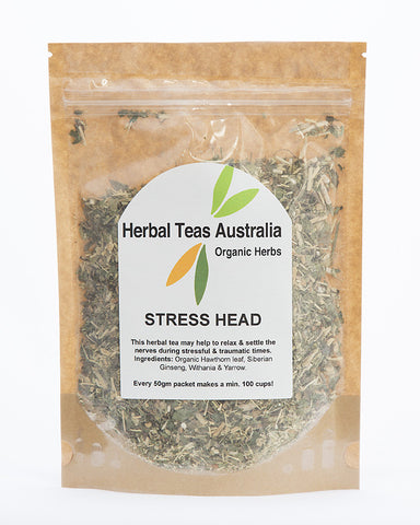 Herbal Teas Australia - Stress Head 50gm