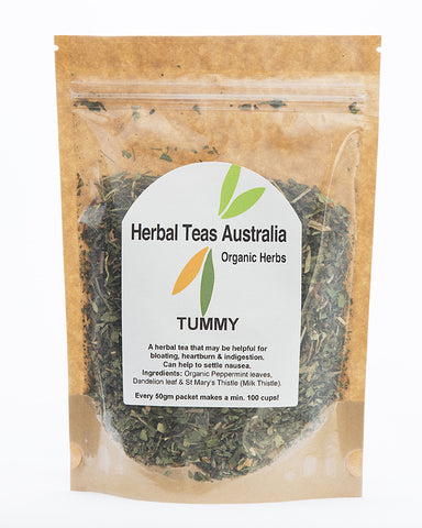 Herbal Teas Australia - Tummy 50gm