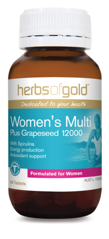 Herbs Of Gold Womens Multi 60 tablets - Mountain Health Online