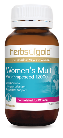 Herbs Of Gold Womens Multi 30 tablets - Mountain Health Online