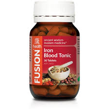 Fusion Iron Blood Tonic 30 tablets