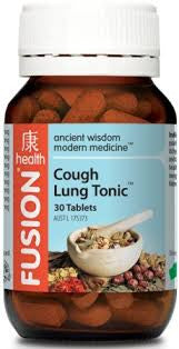 Fusion Cough Lung Tonic 30 tablets