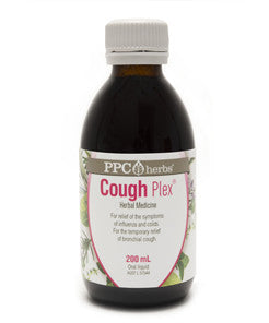 PPC Herbs Cough Plex 200ml - Mountain Health Online