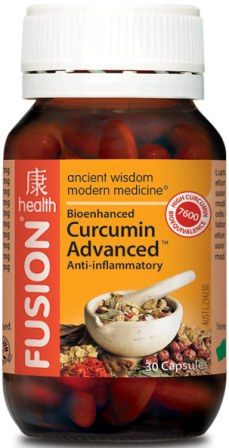 Fusion Curcumin Advanced 30 capsules
